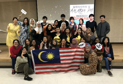 Students Enjoy Malaysia Day Event